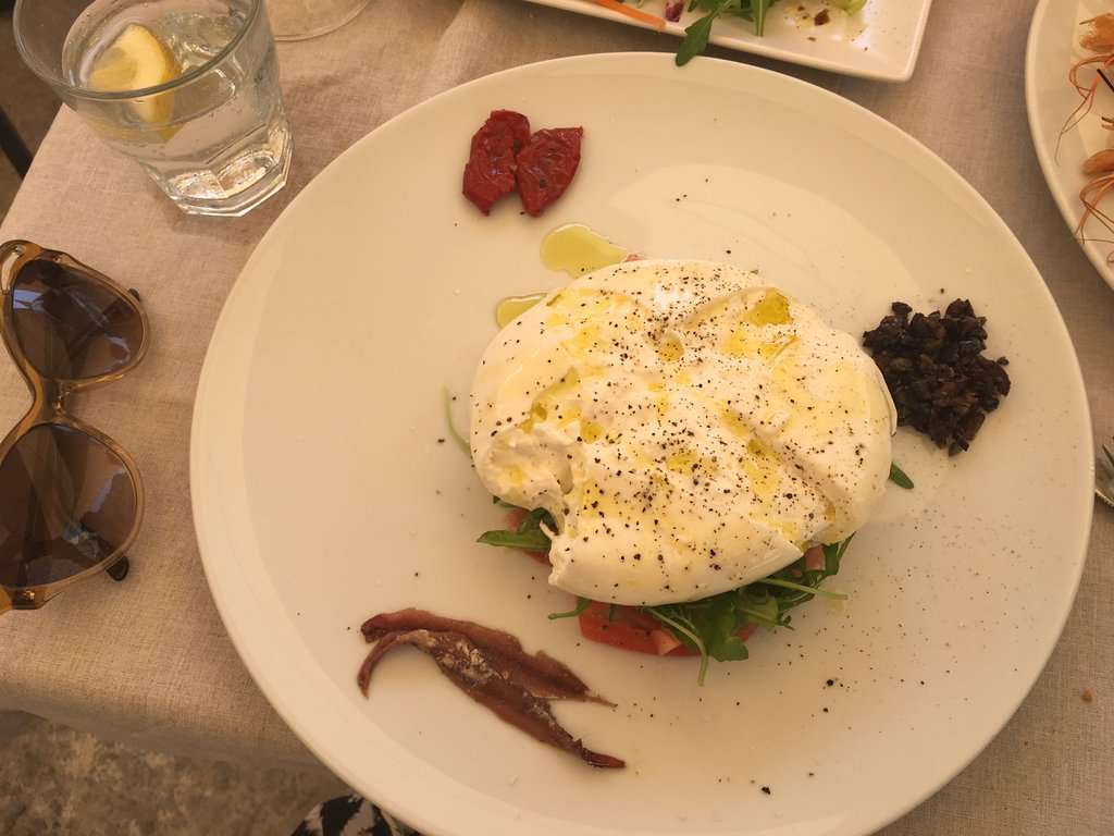 Burrata Amalfi Coast
