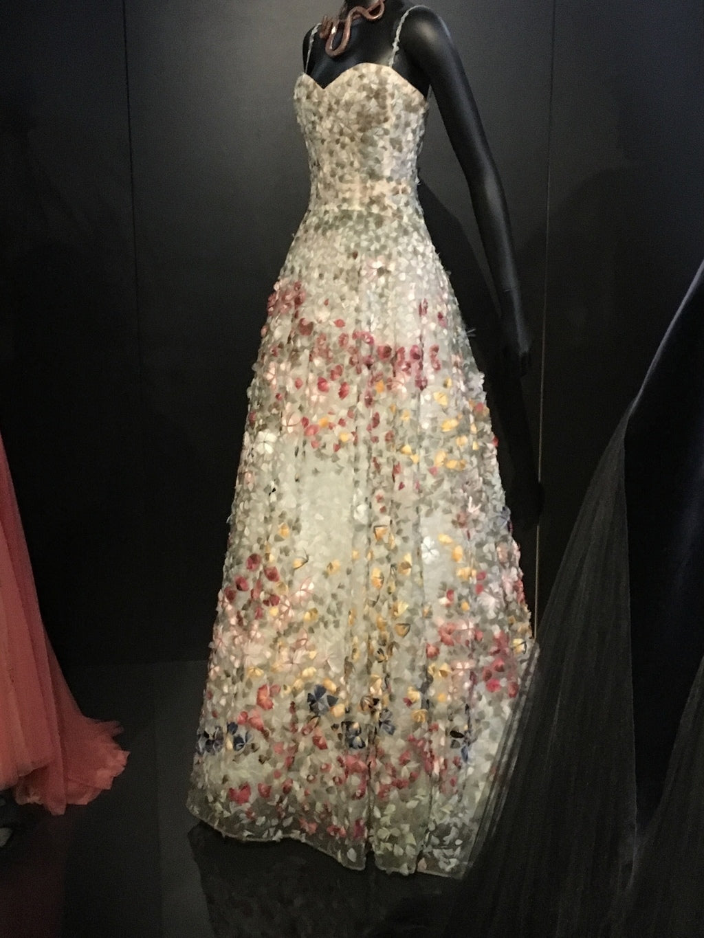 Christian Dior original gowns