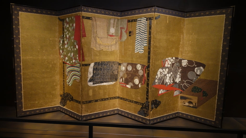 The Louvre Abu Dhabi Japanese Screen