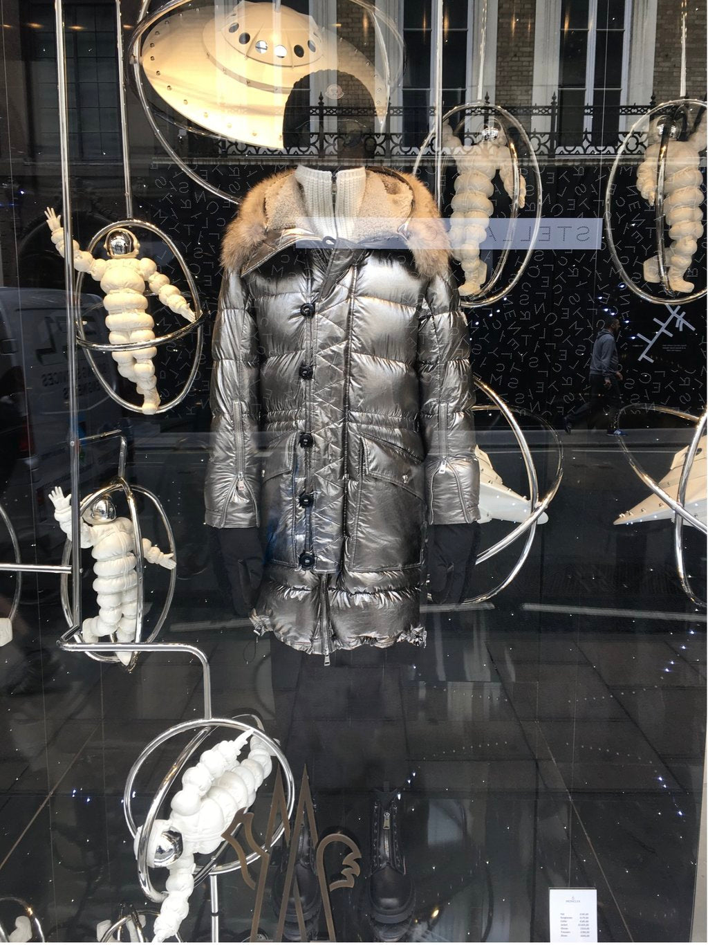 Moncler Window Display
