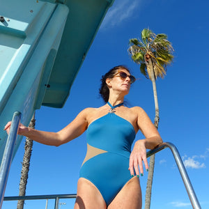 GoGo Halter-neck swimsuit