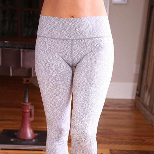 Coobie Wide Band Yoga Ankle Leggings - Full Size  (4 Color Choices)