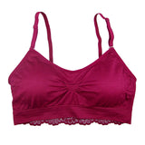 Coobie Lace Back Scoopneck (18 Color Choices)
