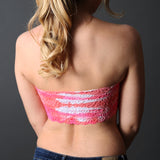 Coobie Lace Back Bandeau (10 Color Choices)