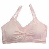 Coobie Bra V-neck with Lace Trim - Full Size & XL Size