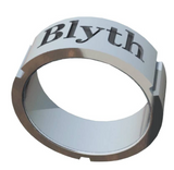 The Blyth School Ring  - Band Design in Matte Finish