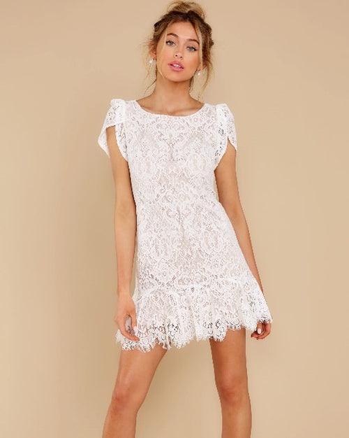 Fast Lace Environment Dress