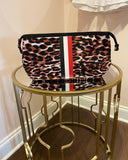 Kyle Toiletry Bag- Leopard
