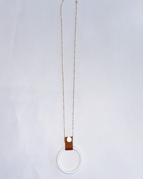 Leather Strap Pendant