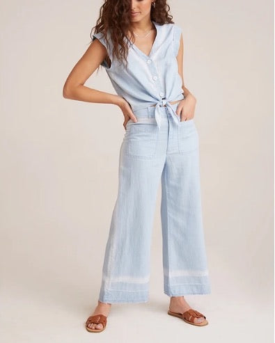 Pocket Front Crop Pant