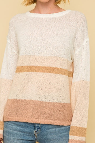Rosie Color Block Sweater