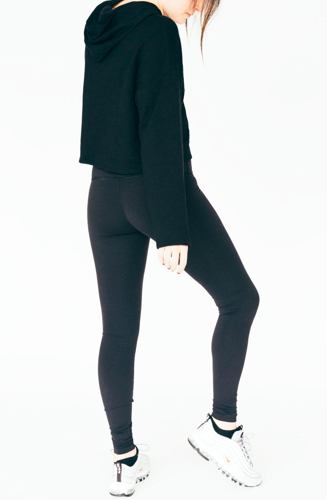 corinne taki sweater - black
