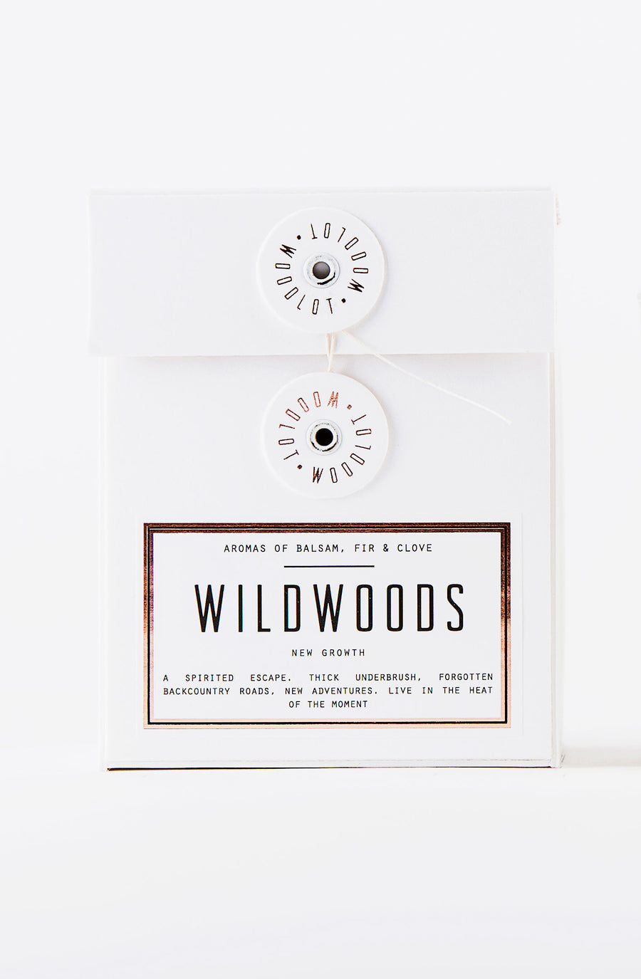 Woodlot Eco-Friendly Large Coconut Wax Candle - Wildwoods
