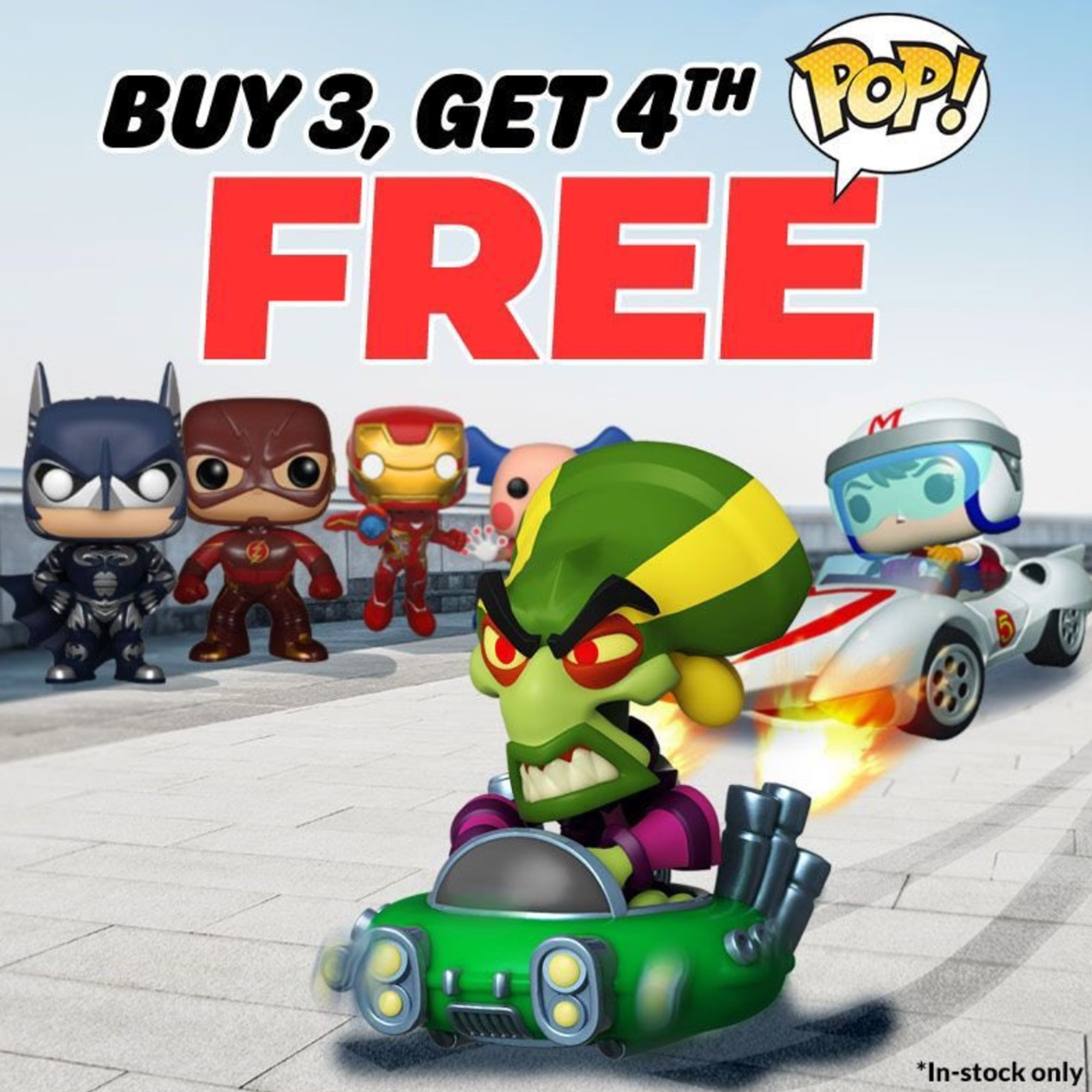 Buy 3 Get 1 Free Sale From Entertainment Earth is Happening Now!