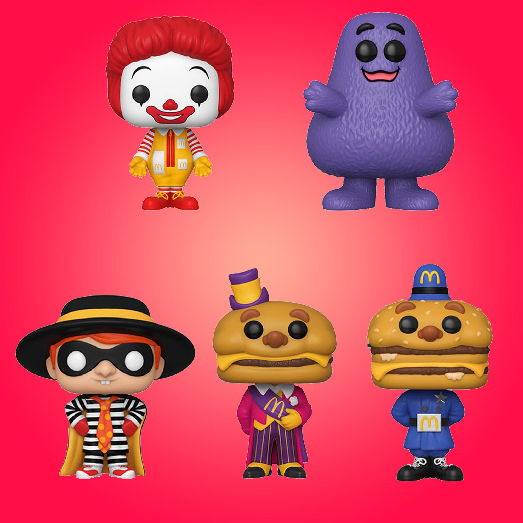 Funko Pop! Ad Icons: McDonald's - Set of Five