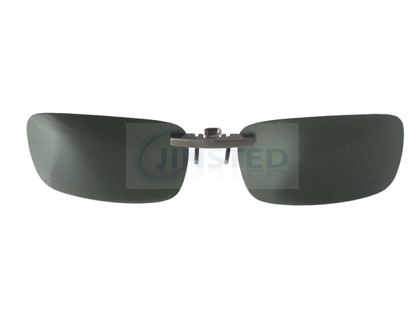 Adult Sunglasses, High Quality Green Polarised Clip On Sunglasses, Jinsted