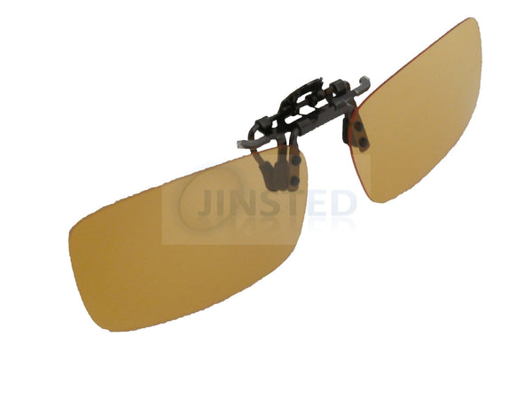 1c36148450 High Quality Yellow Polarised Clip On Flip Up Fishing Sunglasses – Jinsted