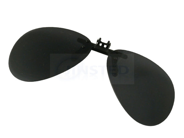 Black Aviator Clip On Flip Up Sunglasses ACP030 Jinsted