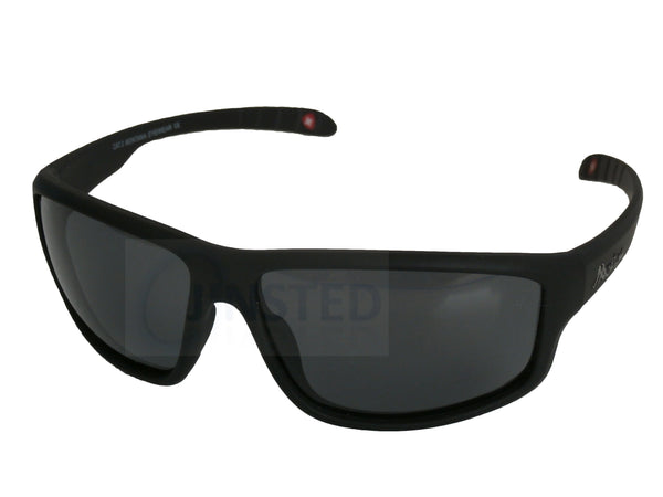Adult Sunglasses, Premium Quality Black Sports Sunglasses with Polarised Tinted Lens, Jinsted