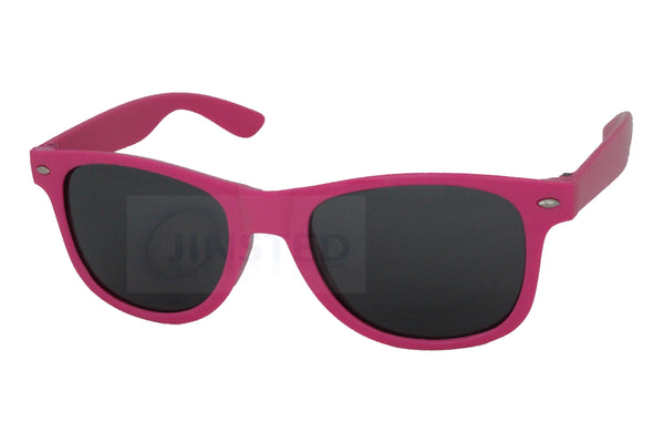 Adult Sunglasses, Adult Pink Frame Sunglasses Black Tinted Lens, Jinsted