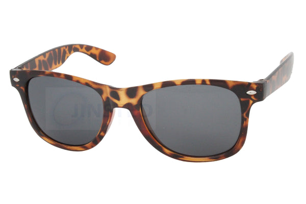 Adult Leopard Print Frame Sunglasses Tinted Lens