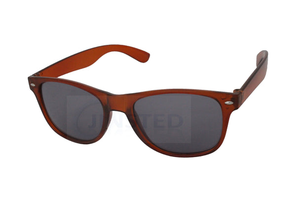 Brown Adult Sunglasses Black Tinted UV400 Lens - Jinsted