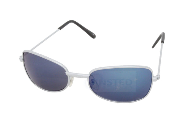 Baby or Toddler Mirrored Blue Aviator Sunglasses - Jinsted