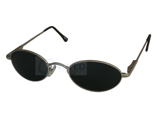 Adult Sunglasses, High Quality Adult Modern Sports Sunglasses Black Tinted Oval Lens, Jinsted