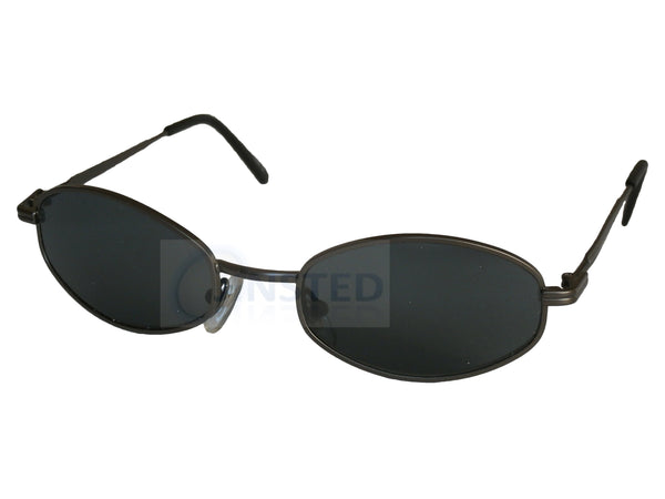 Adult Sunglasses, High Quality Adult Modern Sports Sunglasses Black Tinted Lens, Jinsted