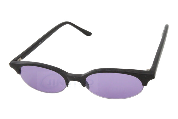 High Quality Adult Modern Sunglasses Purple Tinted Cat Eye Lens and Frame - Jinsted