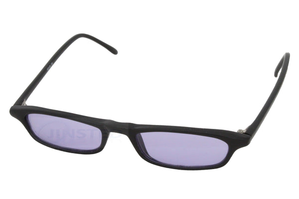 Adult Sunglasses, Small Adult High Quality Modern Sunglasses Purple Tinted Lens, Jinsted