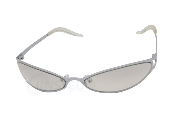 Adult High Quality Sunglasses Clear Lens Wrap Around Sports Frame