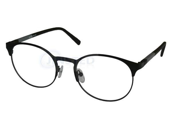 High Quality Luxury Swiss Designed Black Round Glasses Frames. FR002 Jinsted