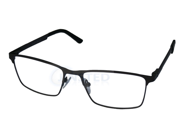 Glasses Frames, Luxury High Quality Gunmetal Grey Swiss Designed Glasses Frames, Jinsted