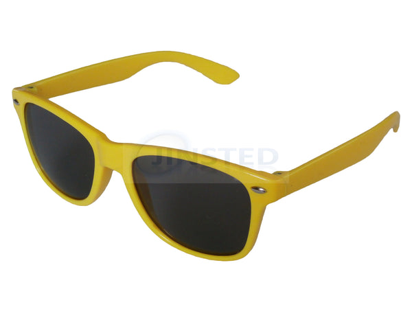 Childrens Sunglasses, Childrens Yellow Frame Sunglasses Tinted Lens, Jinsted