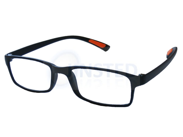 Adult Reading Glasses, Adult Black Adult Reading Glasses. Unisex Spectacles, Jinsted