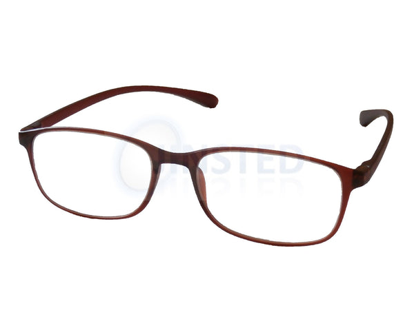 Adult Reading Glasses, Adult Brown Reading Glasses. Unisex Spectacles, Jinsted