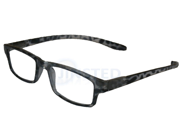 White Leopard Print Adult Unisex Reading Glasses RG018 Jinsted