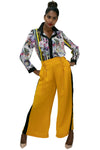 B11005 PANTS (YELLOW, GRN, WHT)