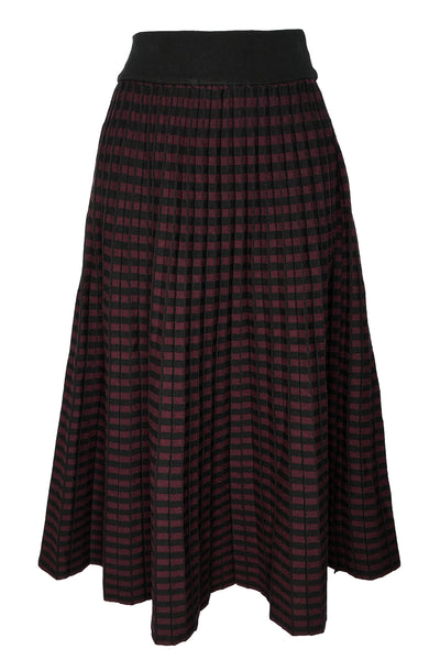 F1014 SKIRT (BLACK, PLUM, PINK)