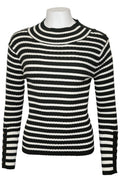 H2055 SWEATER (GRN, BLK)