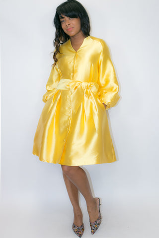 A8078B DRESS / JACKET (yellow, white, red, silver)