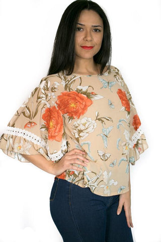 K5005 TOP (3 PRINTS) - N by Nancy