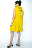 X6991 DRESS (pink, yellow)
