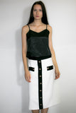 8820 SKIRT (black, white)