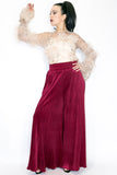 NX704 PANT (WINE) - N by Nancy