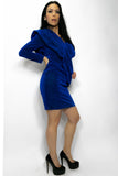 Q1341 DRESS (BLUE) - N by Nancy