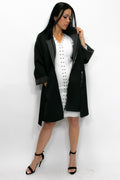 A8140 JACKET / DRESS (green, grey, black) - N by Nancy
