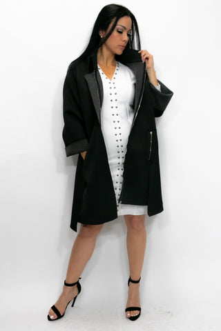A8140 JACKET / DRESS (green, grey, black)