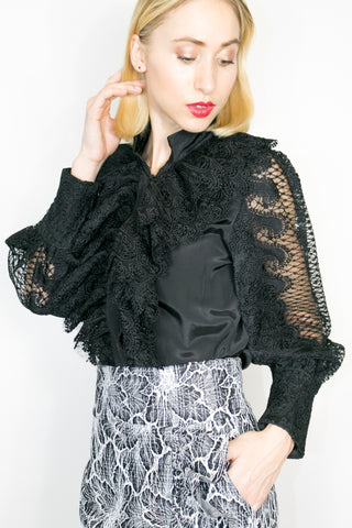 A90034 TOP (BLACK, WHITE)